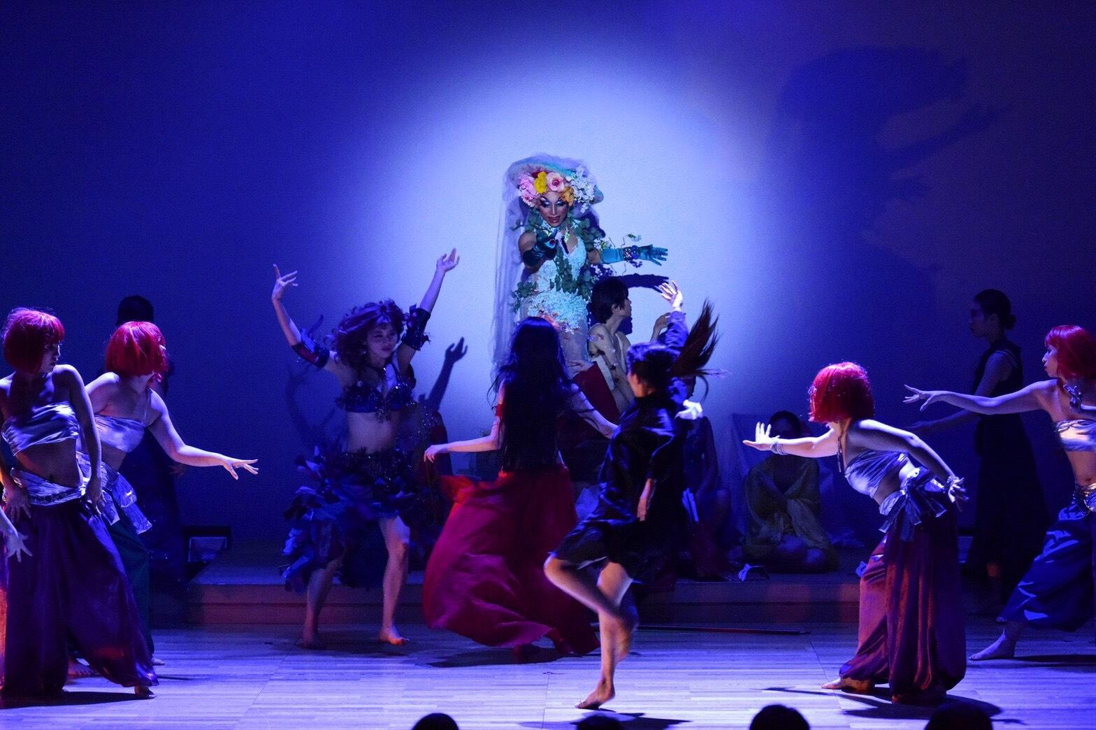 摩訶不思議なダンス・ショウ「Secret Garden ⅲ」 写真集を作りたい!