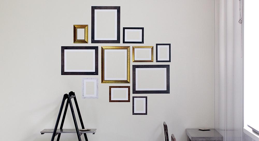 ガラスに貼り付けて飾るフォトフレーム商品化プロジェクト!
