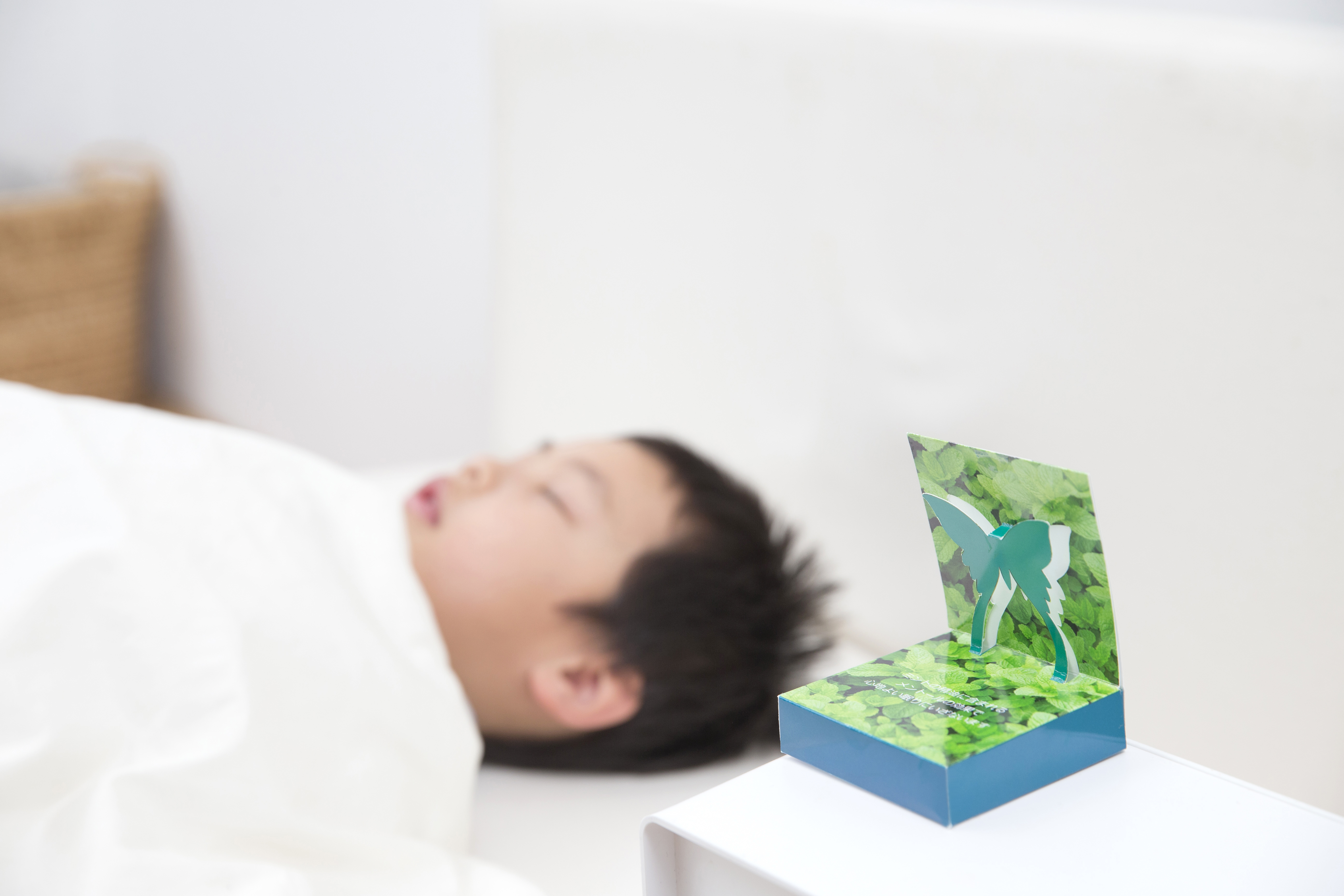 やさしく漂うミントの香りで、こどもの睡眠コンディションを整える新商品プロジェクト