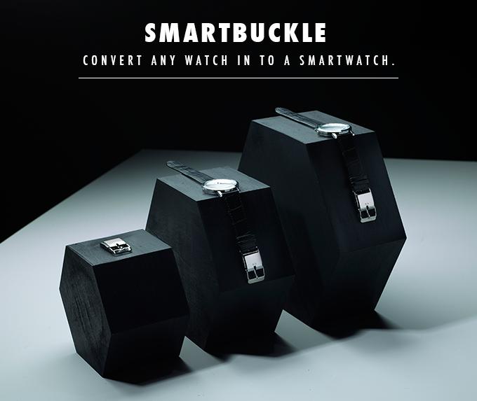 あなたの腕時計をスマートウォッチ化させるSmart Buckleを広めたい!