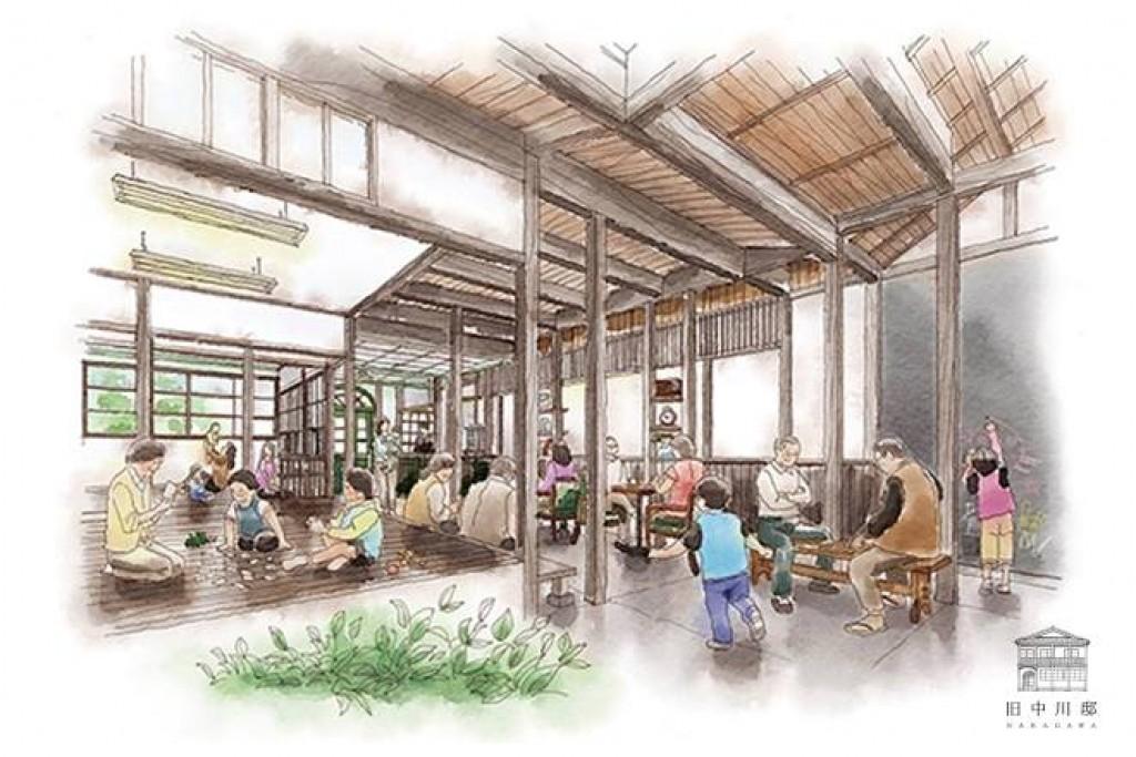 城下町龍野に多世代交流カフェ「旧中川邸」を!大正モダン建築リノベーション!