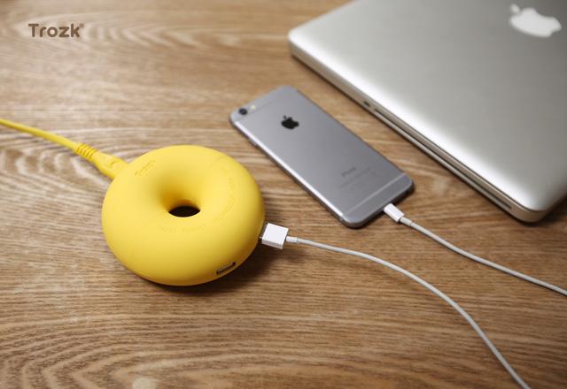 話題のゲーム機も充電できる!Type-Cポート搭載の電源タップ「donut」